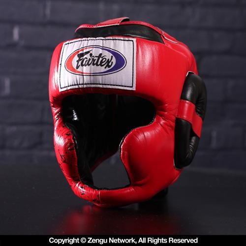 Fairtex Fairtex HG10 Super Sparring Head Guard - Red